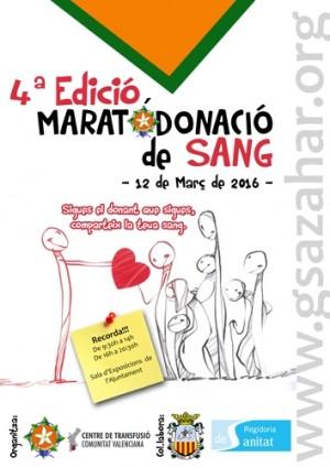 4ª marató de sang, algemesí, scout azahar