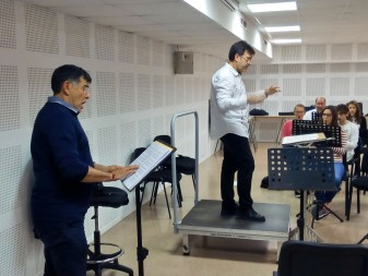 pepe martinez alberto ferrer banda somfònica d'algemesi Societat Musical d'Algemesí teatre la veu d'algemesí