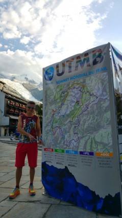 Miquel Tortosa a la conquesta de l'Ultra Trail del Montblanc la veu d'algemesí
