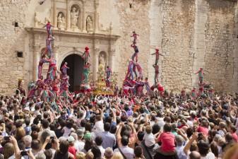 entrada muixerangues Algemesí viu el seu dia gran de les Festes de la Mare de Déu de la Salut, declarades Patrimoni de la Humanitat per la UNESCO la veu d'algemesí