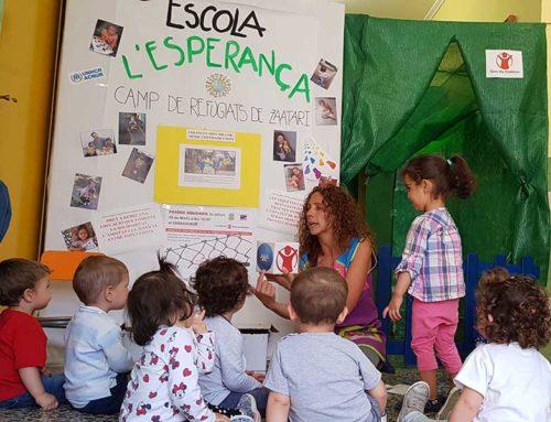«Passos Solidaris» per a les escoles infantils del camp de refugiats de Zaatari