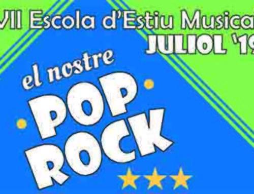Juliol de 2019: VII Escola d'Estiu Musical