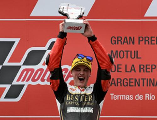 Jaume Masiá en pantalla gegant des de Le Mans