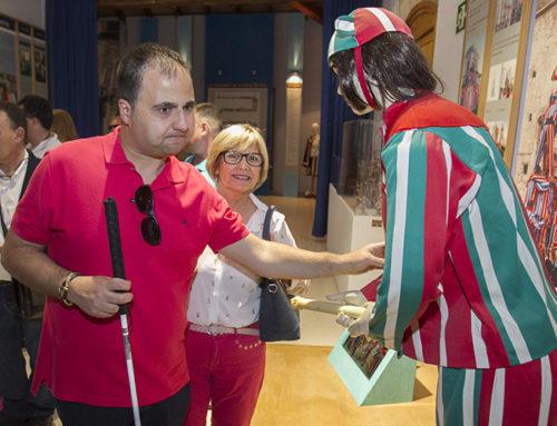 El Consell de l'ONCE al Museu de la Festa