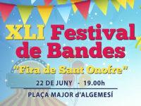 Festival Bandes societat musical algemesi