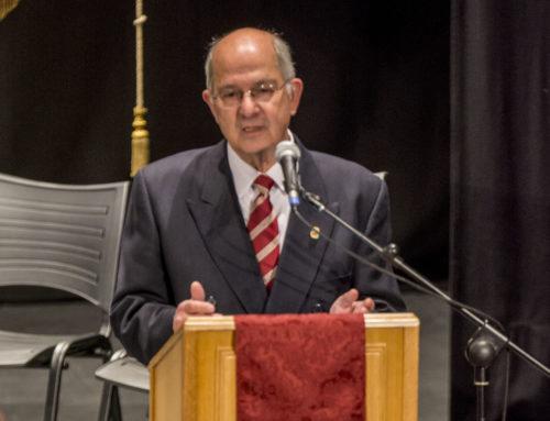 Francisco Llácer Bueno nou acadèmic de la RACV