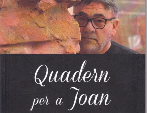 DE LLIBRES: Quadern per a Joan