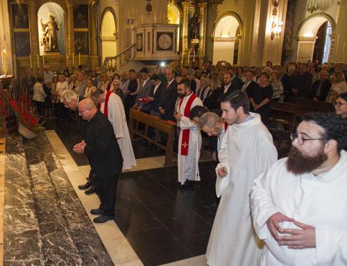 Joan Carles Alemany Vicens, nou rector de la Parròquia de Sant Jaume