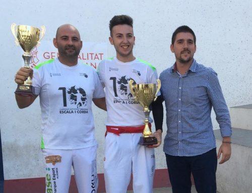 Marcos Haro al 10é Campionat Autonòmic Individual d'Escala i Corda 2019