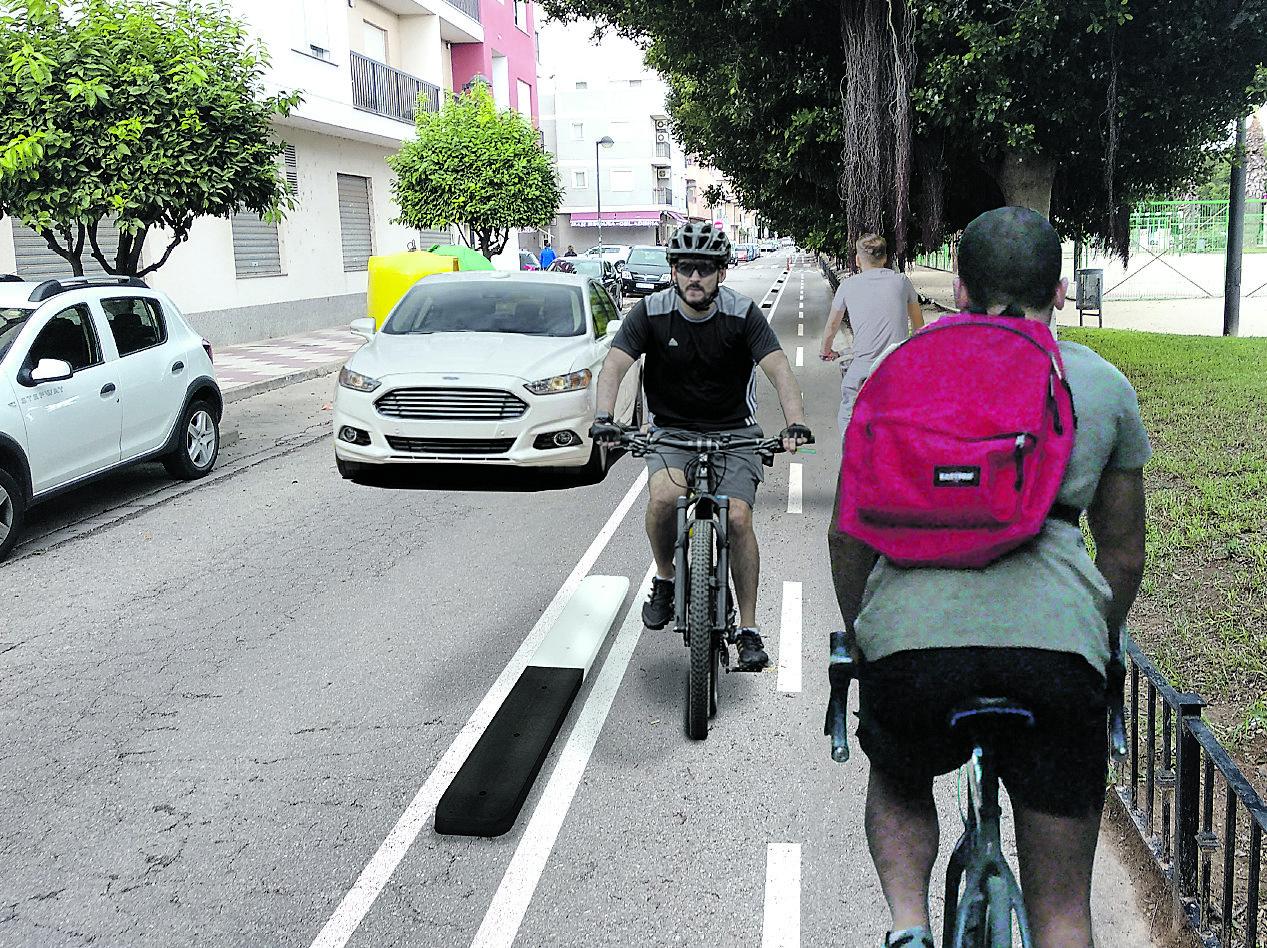 carril bici algemesi