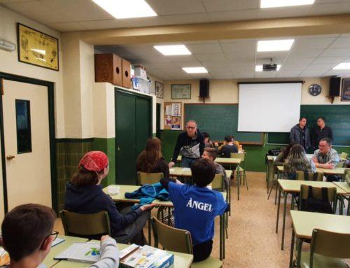 El projecte GUIMENAR implica a més de 100 alumnes de l'IES Bernat Guinovart