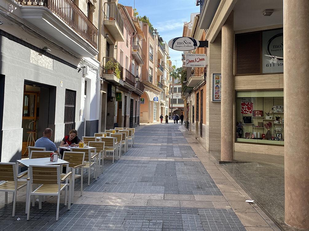 estudi comerç algemesi carrer comercial