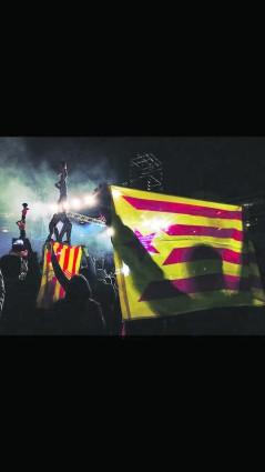 catalanistes independentistes muixeranga acció cultural país valencià