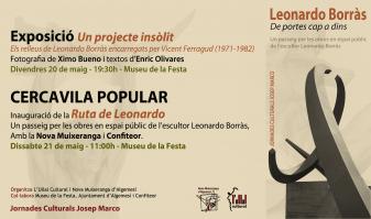 ESCULTOR LEONARDO BORRÀS ullal cultural nova muixeranga la veu d'algemesí
