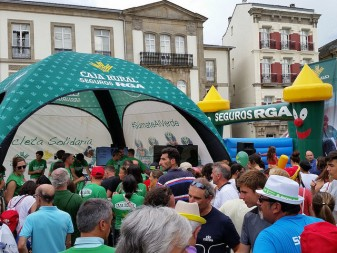 caixa rural d'algemesi Bicicleta Solidaria la veu d'algemesi