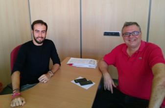 reunio-regidors-participacio Marc Vendrell i Miquel Alcocel