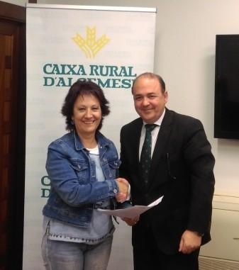 firma-convenio-aguafa-caixa-rural-dalgemesi- la veu d'algemesi