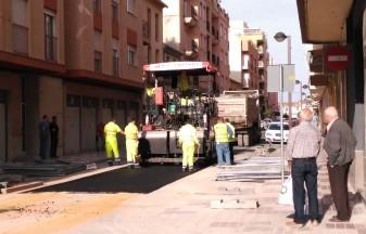 asfaltat-carrer-cervantes la veu d'algemesi