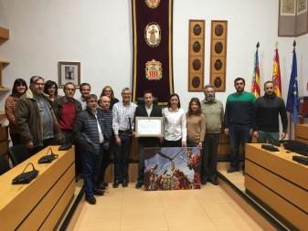 Toni Bellón que ha guanyat el XVIII Premi Bernat Capó de Difusió de la cultura valenciana