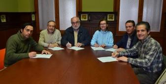 FIRMANT CODI ÈTIC candidats Salvador Carrasco, Ricardo García, Ramón Romero, Mª Amparo Ferragud, Enrique Rosell Raúl Aliaga