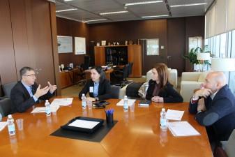 reunio amb conseller alcaldessa marta trenzano la veu d'algemesi