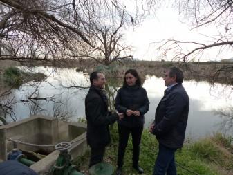 visita llacuna samaruc josep bort marta trenzano la veu d'algemesi