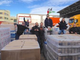 L'ONG d'Algemesí AAPSD aporta 13.000 kg a la Caravana per la Pau Associació d'Ajuda a  Persones Saharauís amb Discapacitat la veu d'algemesi