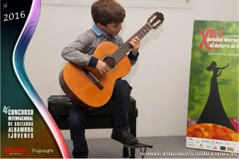 joan gimeno premi del concurs de guitarra alhambra Palau de la Música de Valencia Conservatori Joan Baptista Cabanilles