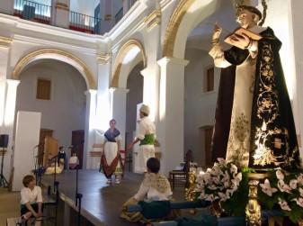 miracle convent festivitat de Sant Vicent representació miracle de la burreta Museu de la Festa la veu d'algemesí