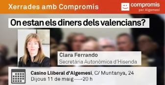 Clara Ferrando compromis la veu d'algemesi
