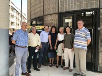 La directora general de l'Alta Inspecció Sanitària es compromet a incloure l'ampliació del centre de salut de la plaça de la Ribera en el pressupostos de la Generalitat per a 2018 la veu d'algemesí