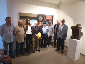 Algemesí rendeix tribut a Nassio Bayarri amb la expo 8+1 manifest cosmoísta grup parpalló la veu d'algemesí