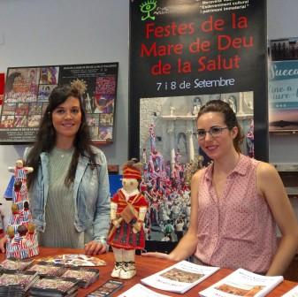 promoció festes Algemesí promociona les Festes de la Mare de Déu de la Salut en l'oficina d'informació turística de la Diputació loa veu d'algemesí