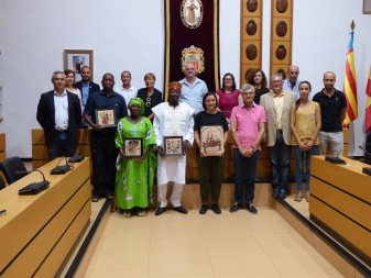 Una delegació de Baasneere visita Algemesí la veu d'algemesí