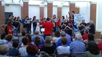 L'Escola de Música JMG societat musical d'algemesí eva tortajada la veu d'algemesi