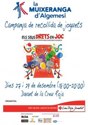 campanya recollida de joguets creu roja algemesi muixeranga d'algemesí la veu d'algemesí agencia de prensa valencia fotoperiodismo valencia
