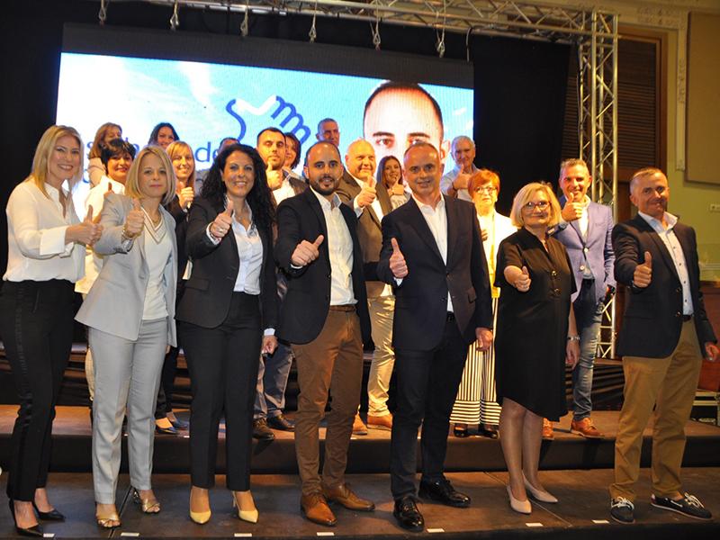 Presentación Candidatura partido popular algeemsi jose javie sanchis