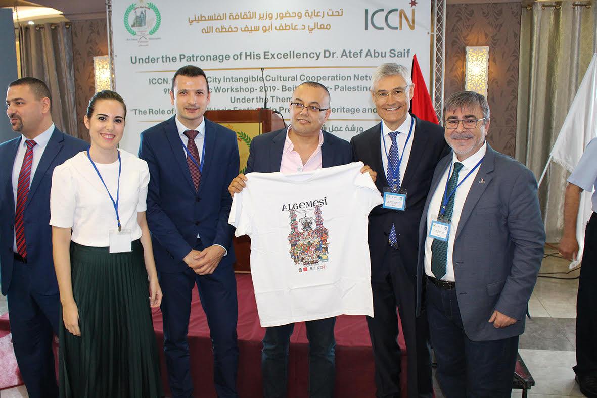 El ministre de Cultura palestí s'emociona amb la festa de la Mare de Déu d'Algemesí