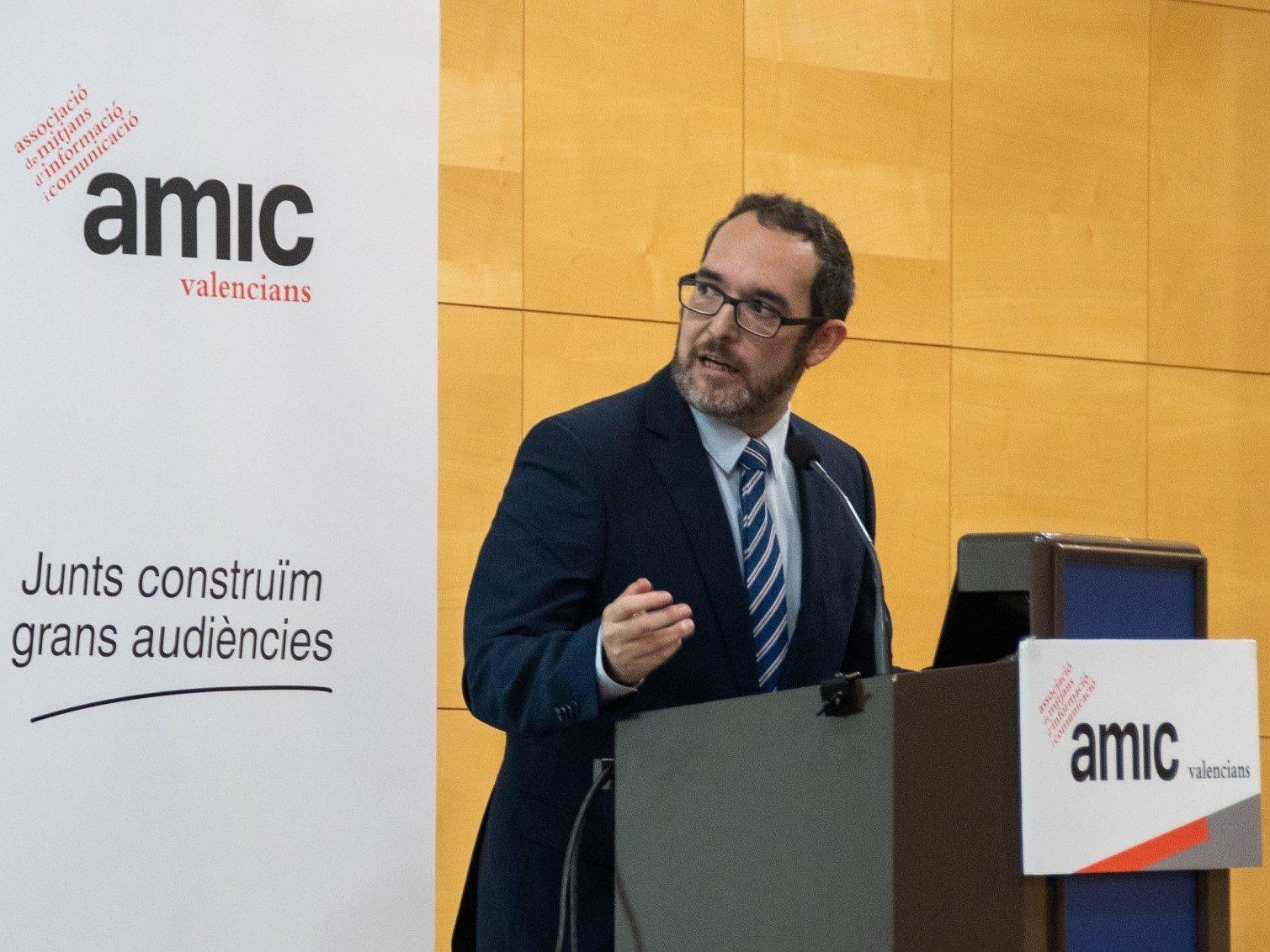 AMIC Ramon Grau, president de l'AMIC valencians agencia prensa2 carlos bueno moisés castell
