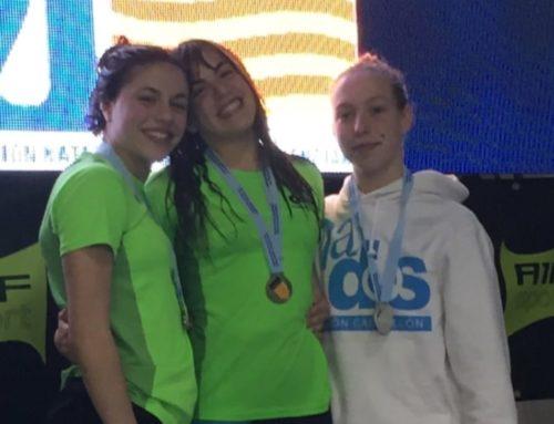 Sis medalles en l'autonòmic de natació per a Claudia Bresó