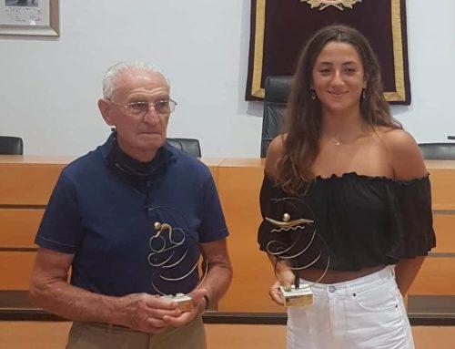 Premiats els esportistes Germán Puchades i Esther García de la Virgen