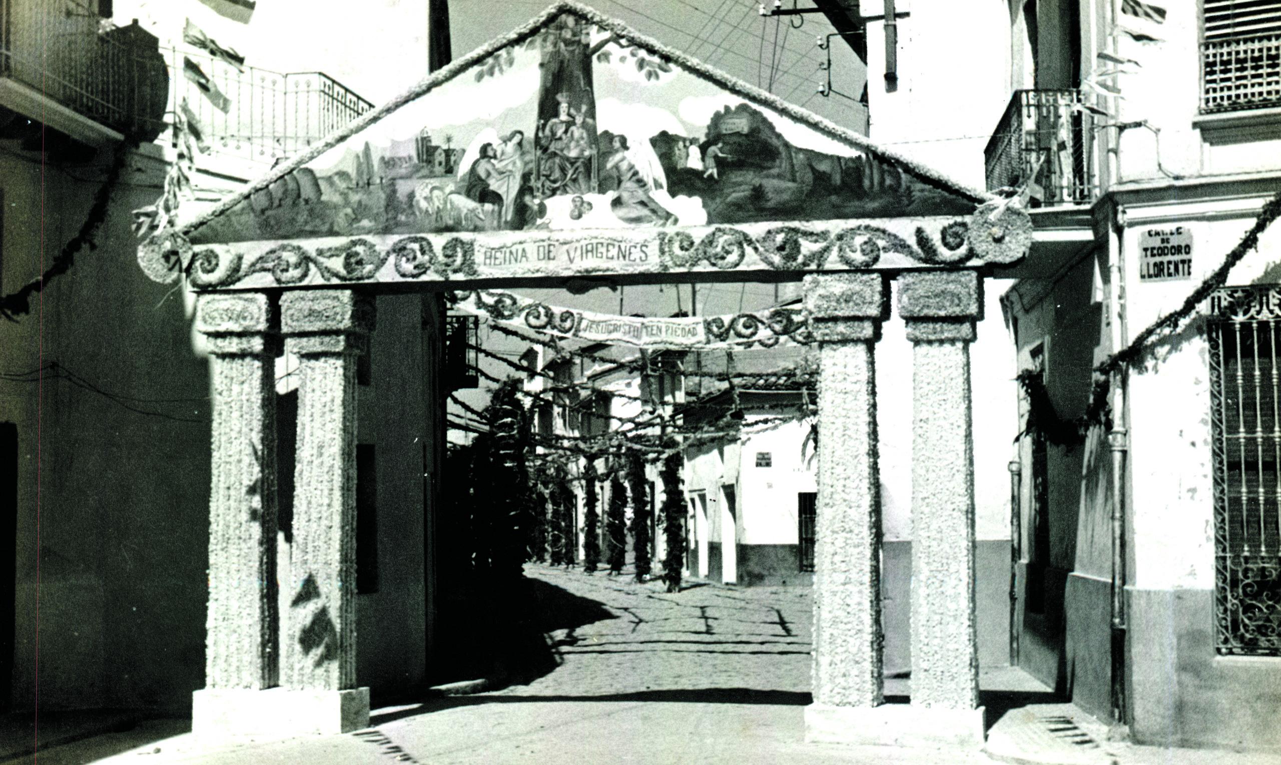 Placeta dels Àngels. Festes del Setè centenari 1947.