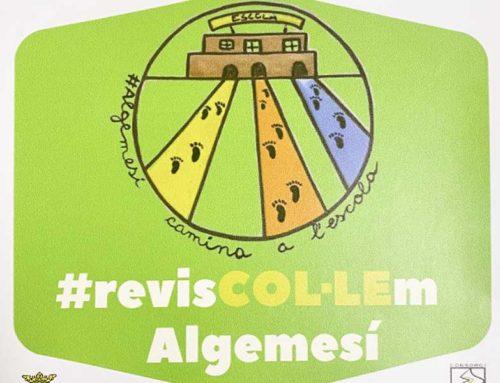 El comerç s'implica en la campanya 'Algemesí camina a l'escola'