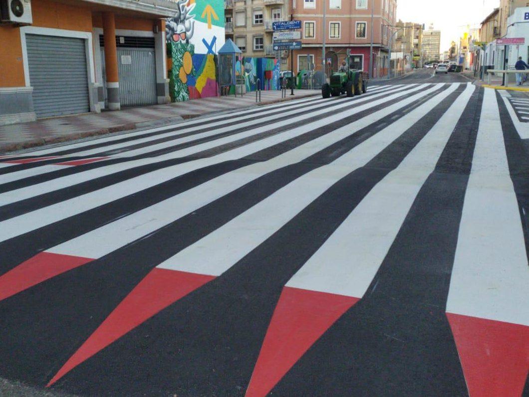 paso peatones 30 metros