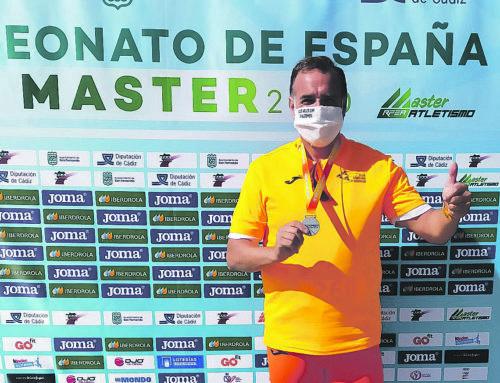 Jaime Flores, plata als Campionats d'Espanya Màster 50 d'Atletisme