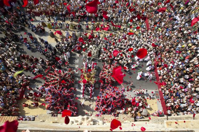 Entrada de la Mare de Déu. Processoneta del Matí. Nº65 - octubre 2017. MOISÉS CASTELL/Prensa2