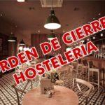 cierre hosteleria comunidad valenciana