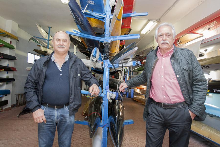José Ramón Naval i Ricardo Sales. Piragüistes olímpics a Munich'72. Nº49 - abril 2016. MOISES CASTELL/Prensa2