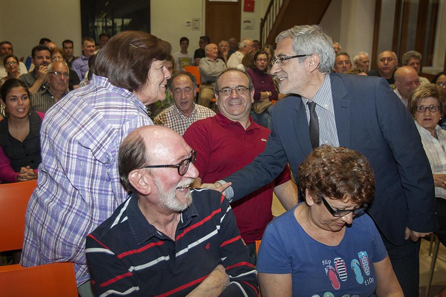 Gaspar Llamazares. L'excoordinador general d'EU en campanya per a les eleccions europees. Nº29 - juny 2014. MOISÉS CASTELL/Prensa2