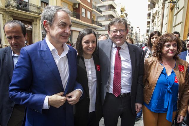 José Luís Rodríguez Zapatero (PSOE). L'expresident del Govern en la campanya per a les eleccions locals. Nº83 - maig 2019. MOISÉS CASTELL/Prensa2